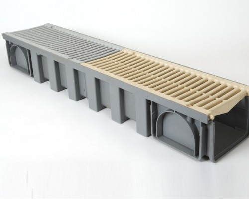 Системы линейного дренажа A15 - для террас, бассейнов, пешеходных зон CONNECTO®