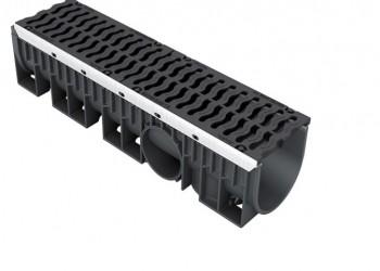 Системы линейного дренажа D400 для автодорог и обочин KENADRAIN®