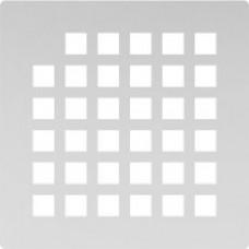 Решётка из нержавеющей стали для душевого трапа 100*100, дизайн Квадрат
