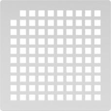 Решётка из нержавеющей стали для душевого трапа 150*150, дизайн Квадрат