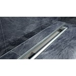 Душовою канал 80 см для низьких плиткових підлог з реверсивною решіткою