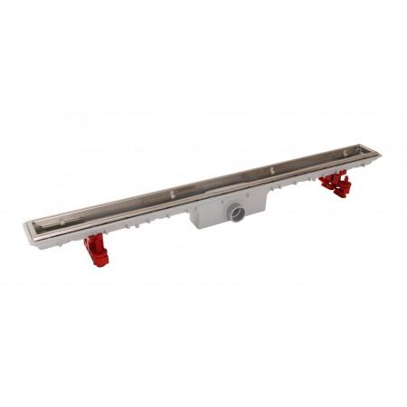 Душевой канал 70 см для низких плиточных полов без решетки
