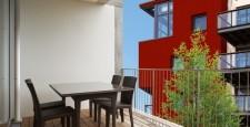 Система водозбору з балконів і терас