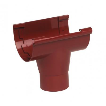 Воронка желоба на клеевом соединении Classic 25 красная D80