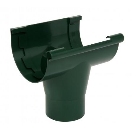Воронка желоба на клеевом соединении Classic 25 зеленая D80