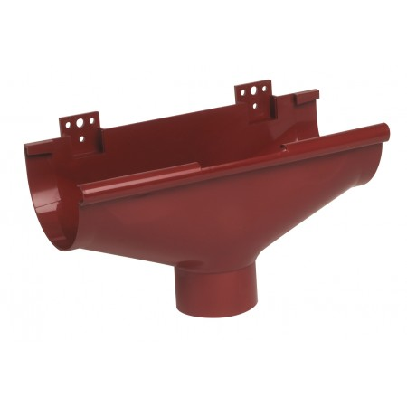 Воронка желоба компенсирующая температурное расширение Classic 25 красная D80