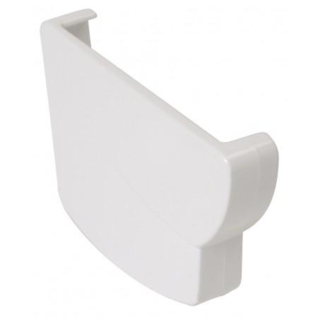 Заглушка желоба левая Super Super Ovation® 38 прямоугольная белая 170мм