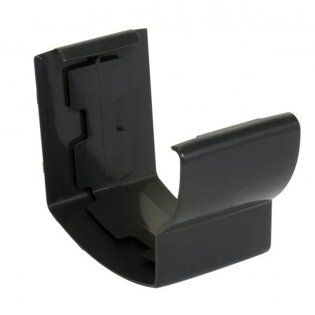 Соединитель желоба на клеевом соединении Super Ovation 28 темно-серый D90*56