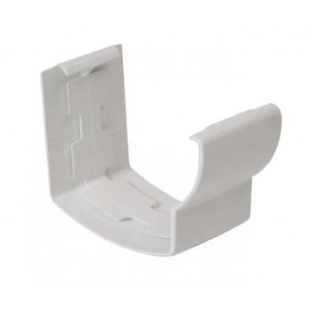Соединитель желоба на клеевом соединении Super Ovation 28 белый D90*56
