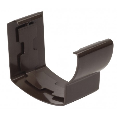 Соединитель желоба на клеевом соединении Super Ovation 28 коричневый D90*56