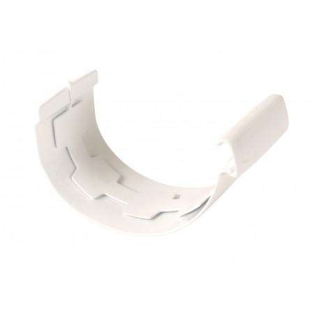 З'єднувач жолоба на клейовому з'єднанні Vodalis 29 білий D80