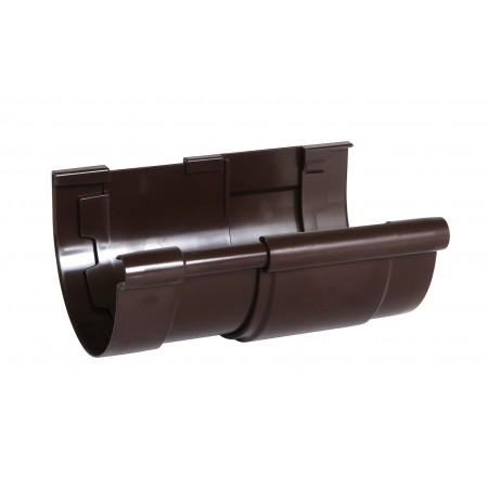 Соединитель желоба компенсирующий температурное расширение Classic 25 коричневый D80
