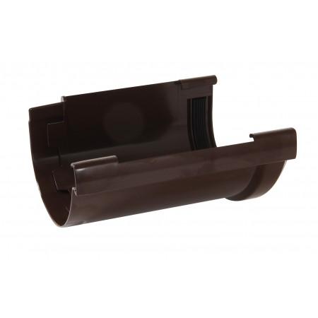 Соединитель желоба компенсирующий температурное расширение Vodalis 29 коричневый D80