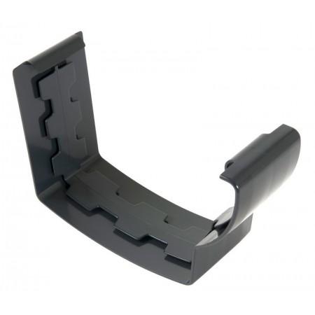 Соединитель желоба на клеевом соединении Super Ovation 38 темно-серый D105*76