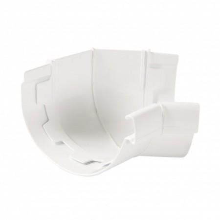 Угол желоба внутренний 135⁰ на клеевом соединении Vodalis 29 белый