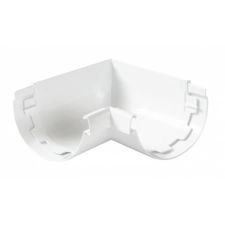 Угол желоба внутренний 90⁰ на клеевом соединении Vodalis 29 белый