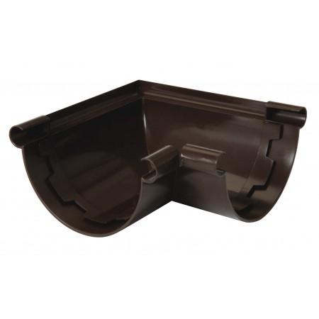 Угол универсальный 90⁰ на клеевом соединении Classic 25 коричневый