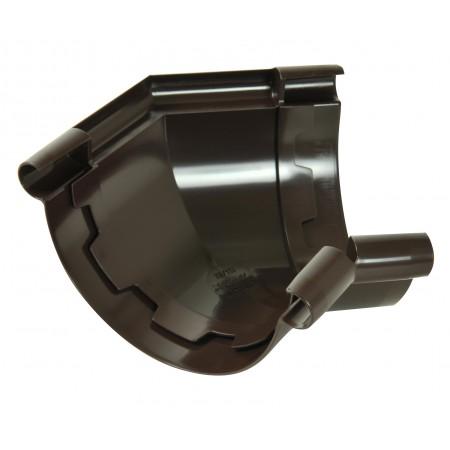 Угол универсальный 135⁰ на клеевом соединении Classic 33 коричневый