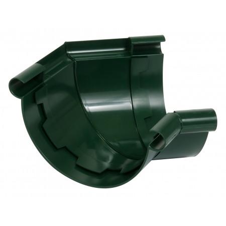 Угол универсальный 135⁰ на клеевом соединении Classic 25 зеленый