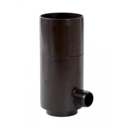 Рекуператор дождевой воды для круглой трубы коричневый D80