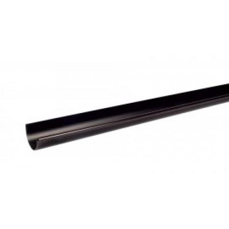 Желоб водосточный Classic 16 полукруглый коричневый 70мм, 4м