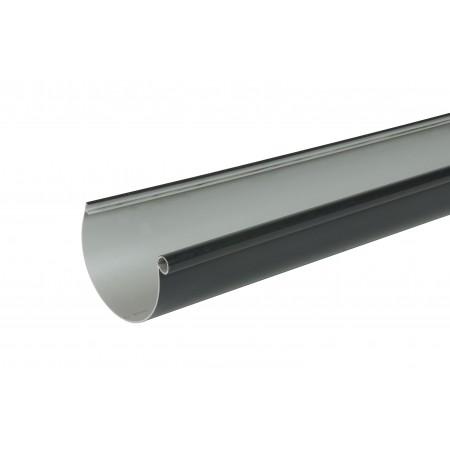 Желоб водосточный Classic 25 полукруглый темно-серый 115мм, 4м