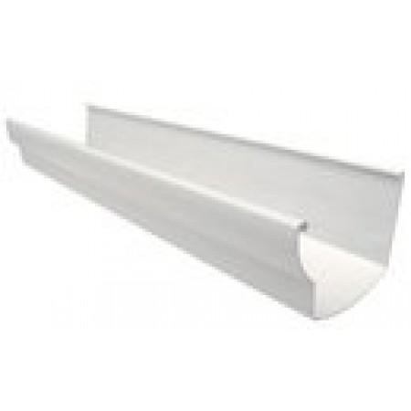 Желоб водосточный Ovation® 28 прямоугольный белый 125мм, 4м