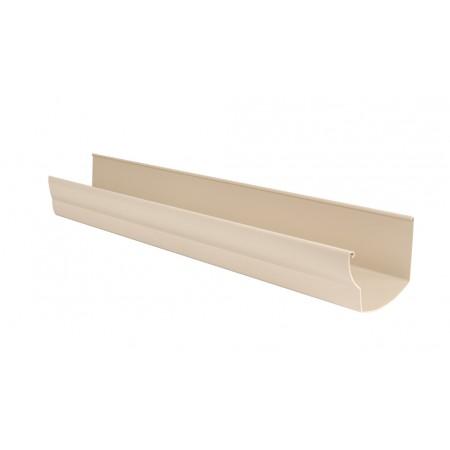 Желоб водосточный Ovation® 28 прямоугольный бежевый 125мм, 4м