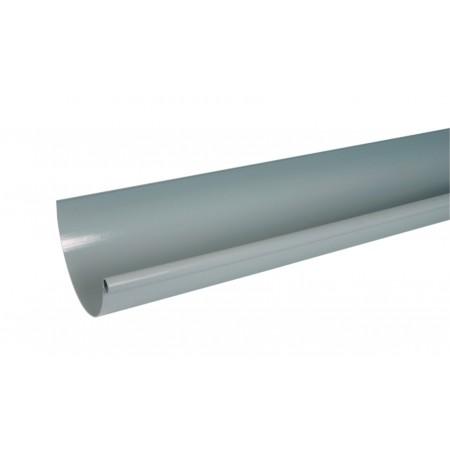 Желоб водосточный Classic 33 полукруглый светло-серый 170мм, 4м