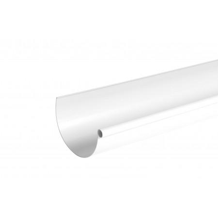 Желоб водосточный Classic 33 полукруглый белый 170мм, 4м