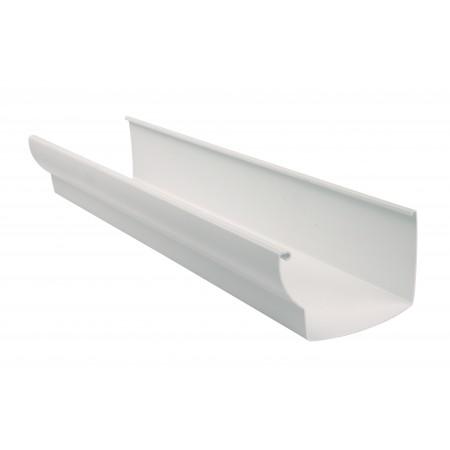 Желоб водосточный Ovation® 38 прямоугольный белый 170мм, 4м