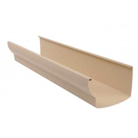 Желоб водосточный Ovation® 38 прямоугольный бежевый 170мм, 4м