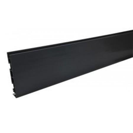 Лобовая планка Belriv System® темно-серая 170 мм, 4м
