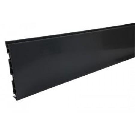 Лобовая планка Belriv System® темно-серая 210 мм, 4м