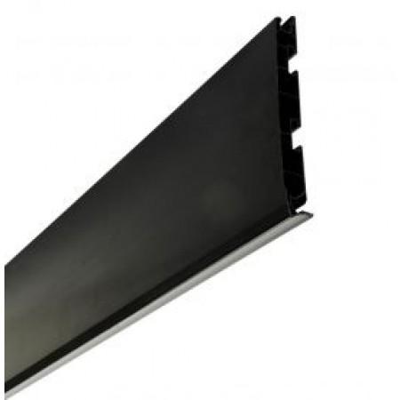Лобовая планка Belriv System® черная 210 мм, 4м