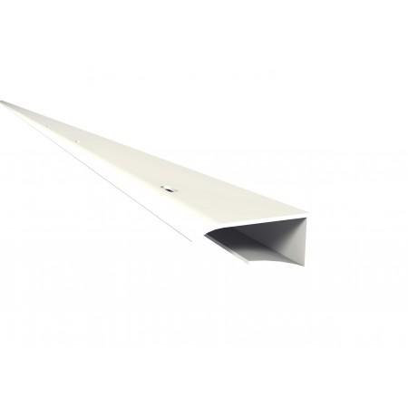 J-профиль Belriv System® соединения потолочной панели к фасаду белый 400 см