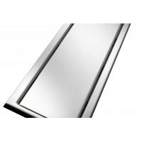 Решётка из нержавеющей стали для душевого канала 70 см, дизайн Реверсивная
