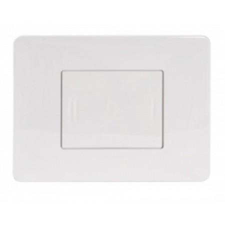 Нажимная панель CAIMAN белая