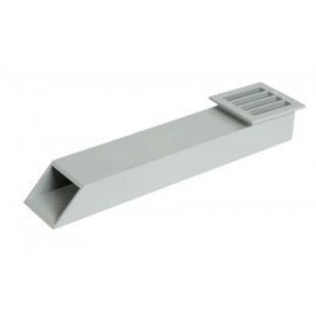 Балконный канал светло-серый GAR1
