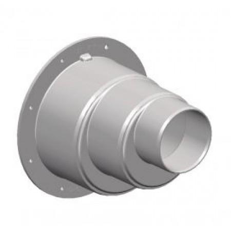 Насадка для впуска и выпуска d 100-110-160-200 WLRE250 светло-серая